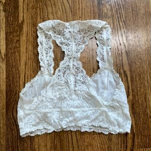 Free People Intimates & Sleepwear - White lacey bralette